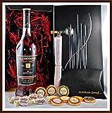 Geschenk Glenmorangie Quinta Ruban 12 Jahre Whisky + Flaschenportionierer + 10 Edel Schokoladen von DreiMeister & DaJa + 4 Whisky Fudge, kostenloser Versand