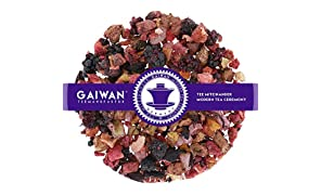 "Núm. 1217: Té de frutas ""Compota de frutas"" - hojas sueltas - 250 g - GAIWAN® GERMANY - manzana, piña y papaya, zarzamora, fresas, frambuesa, hibisco"