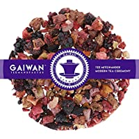 "No. 1217: Fruit tea loose leaf ""Fruit Compote"" - 100 g (3.5 oz) - GAIWAN® GERMANY - apple, pineapple, papaya, blackberry, strawberry, raspberry, hibiscus"