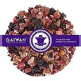 "Núm. 1217: Té de frutas""Compota de frutas"" - hojas sueltas - 100 g - GAIWAN GERMANY - manzana, piña y papaya, zarzamora, fresas, frambuesa, hibisco"