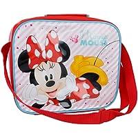 Offizielle Minnie isolierte Lunchtasche für Kinder, mit Gurt, mehrfarbig