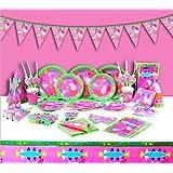 Peppa Pig–Fiesta Infantil de cumpleaños platos, vasos, servilletas bolsas de fiesta y más para 6personas