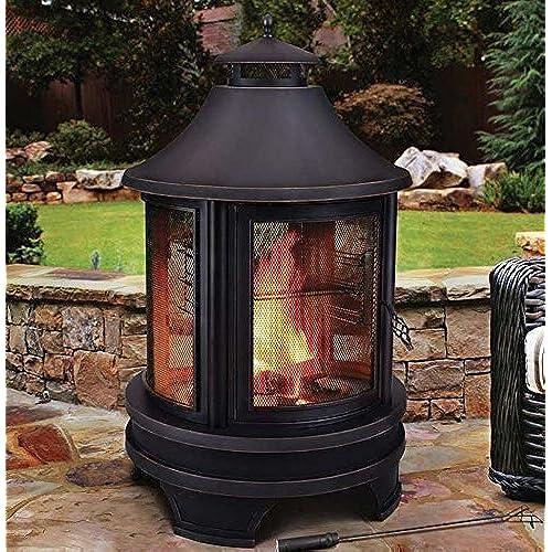 Outdoor Wood Burners Amazon Co Uk