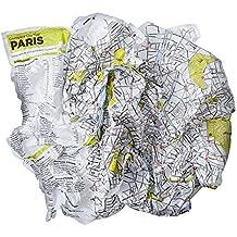 Crumpled City: Paris. Soft city maps for urban jungles: Die cleveren Stadtpläne für Großstadtnomaden (Crumpled City Map)