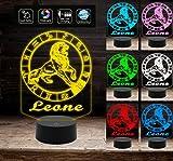 Best Ideas amigo desconocido - Generico lámpara LED 7colores del signo del zodiaco Review