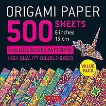 Origami Paper 500 Sheets Kaleidoscope Patterns 6 (15 CM)