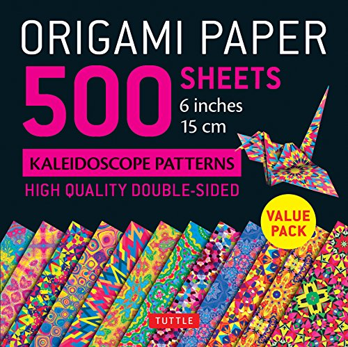 Handwerk Papiere (Origami Paper 500 Sheets Kaleidoscope Patterns 6 (15 CM))