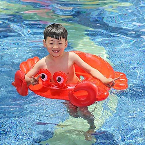 1 satz Baby Kinder Nette Arm Krabben Baby Wasser Cartoon Krabben Schwimmen Aufblasbare Pool Float Training Tool