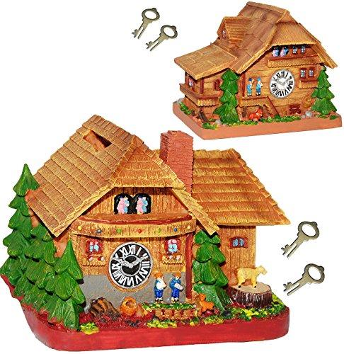 Traditionelles Bauernhaus (1 Stück _ Spardose -