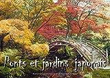 Ponts Et Jardins Japonais 2017: Serie De 12 Peintures Representant Des Ponts Et Jardins Japonais Style Impressionniste.