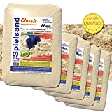 MGS SHOP 125 kg Spielsand Quarzsand TÜV geprüft TOP Qualität 0-2 mm Sandkasten