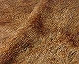 Faux Fell der Tiere–1/8M–50cm x 37cm–50,8x 38,1cm–30mm Flor Hohe Qualität Teddybär und Stofftieren Stoff Fell, Timberwolf, 1/8m