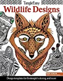 Tangleeasy Wildlife Designs: Design Templates for Zentangle(r), Colorists, and More