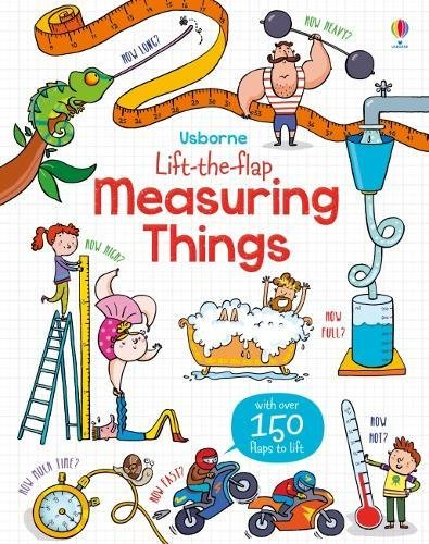 Lift-the-Flap Measuring Things por Rosie Hore