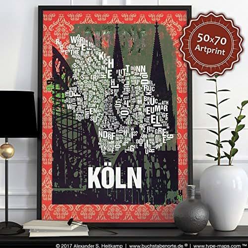 Köln Buchstabenort Dom 2015