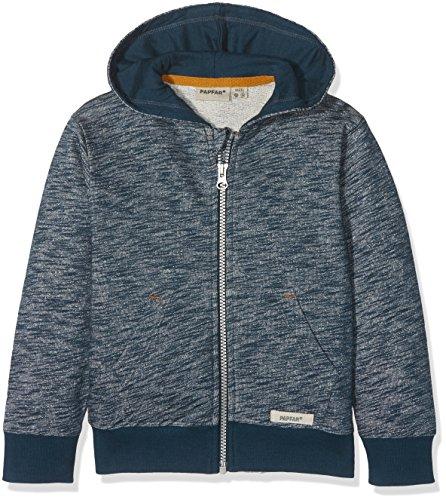 Papfar Slub Sweatshirtjacke GOTS Sweat-Shirt, Bleu (Blue Nights 287), 104 cm (Taille Fabricant: 4Y) Bébé Fille
