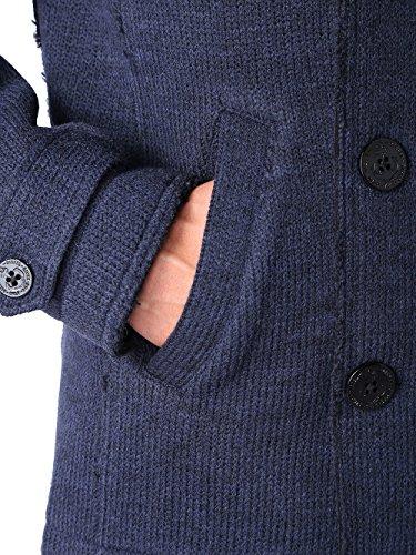 Diesel G-Ilan Giacca Garmen Herren Jacke Wolljacke Blau Blau