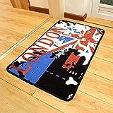 YNG Teppich Matratze Tür Matte Moderne Bar Wort Flagge Englisch Wind Tür Eingang Küche Bad...