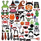 lictin 59 pcs Halloween Photo Booth props Halloween Photo - Best Reviews Guide
