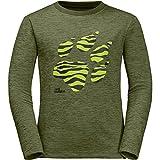 Jack Wolfskin Boys & Girls Vargen Lightweight Long Sleeve T Shirt