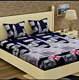 #8: Glace Cotton King Size Double Bedsheet,Set of 1 Bedsheet and 2 Pillow covers From Fashion Hub™