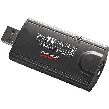 Hauppauge WinTV HVR 930C HD - Hybrid TV-Stick (DVB-C, DVB-T, Analog, USB 2.0) schwarz