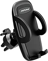 Air Vent Phone Holder, Mpow Car Phone Mount with 3-level Adjustable Clamp 360° Rotation In Car Mount  for iPhone X 8 7 7 Plus 6s SE Samsung S8 Plus S8 S7 LG HTC & Smartphones