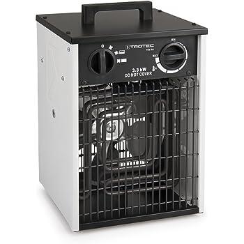 Trotec Elektroheizer Tds 10 Mit 2 Kw Heizlufter Heizgerat Bauheizer