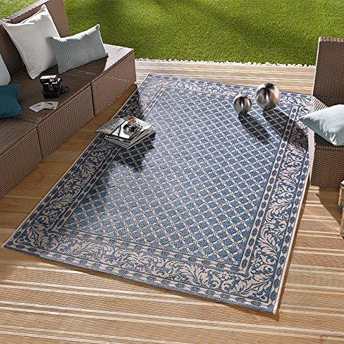 In- & Outdoorteppich Royal Blau | 102476, Größe:115x165