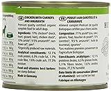 defu Bio Nassfutter für Hunde Huhn 200 g Gluten und Getreidefrei, 12er Pack (12 x 200 g) - 3