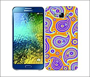 Galaxy Printed 2558 Paisley2 Cele Hard Cover for Samsung CORE 2