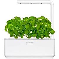 Click and Grow Smart Garden 3 Indoor Kräutergarten (enthält 3 Basilikum Pflanzenschoten), weiß