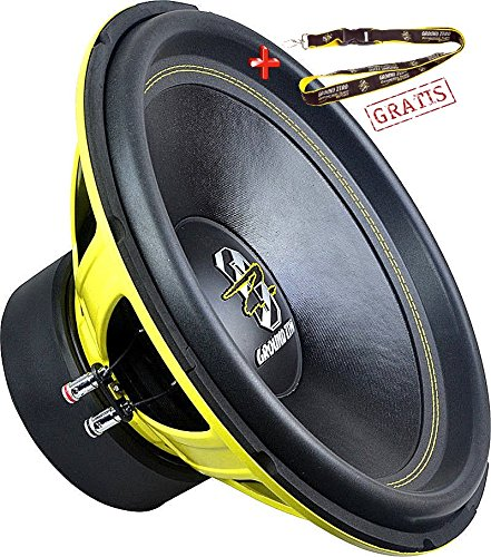 Spl Subwoofer 15 (Ground Zero GZIW 15 SPL, 38 cm Subwoofer 1000 Watt RMS 2 x 2 Ohm)