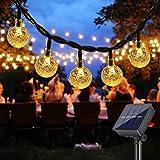 Solar String Lights Outdoor , DeepDream 40 LED 7.5M/25Ft Waterproof Festival Garden Lights Crystal Ball Decorative Fairy Ligh