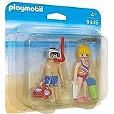 Playmobil 9449 familj roliga strandgäster duo-paket