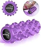 HCFGS Faszienrolle - Foam Roller Gymnastikrolle für Triggerpunkt-Massagerolle, Selbstmassage Schaumstoffrolle mit Tragetasche beim Faszientraining,Blackrolle Rolle