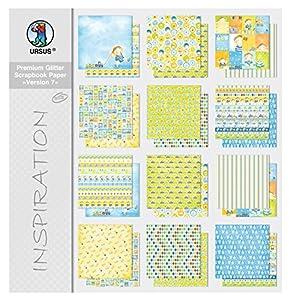 Ursus Premium Glitter Scrapbook Paper Bloque