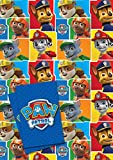 Paw Patrol Gift Wrap Wrapping Paper - 2 Sheets 70 x 50cm with 2 Tags
