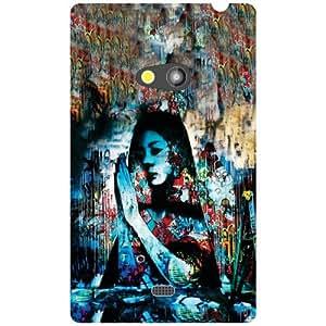 Nokia Lumia 625 Back Cover - Abstract Designer Cases
