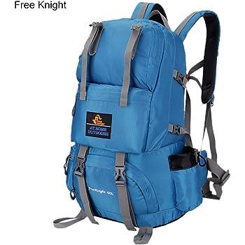 Bolsa de viaje 50L impermeable de nylon suave al aire libre bolsa unisex escalada bolsa 35× 20× 50cm, azul