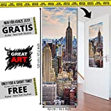 XXL Poster Steg ins Paradies Strand Meer Stairway Design by GREAT ART 140 cm x 100 cm - 5