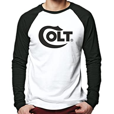 COLT Logo Long Sleeve Tee White