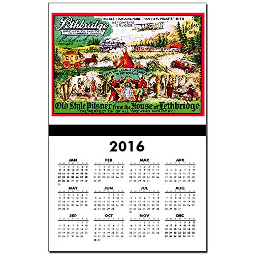 cafepress-canada-beer-label-15-calendar-print-one-page-calendar-poster-glossy-11x17-heavy-paper