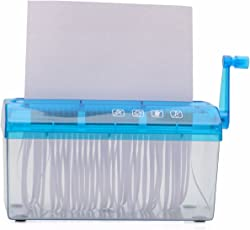 A4 Size Hand Operated Mini Portable Manual Personal Paper Shredder