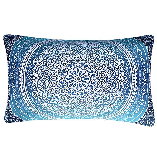 Sencillo Vida Fundas De Cojin Almohada Caso de Lino Impresión de Bohemia Pillow Case Sofa Cushion Decoración...