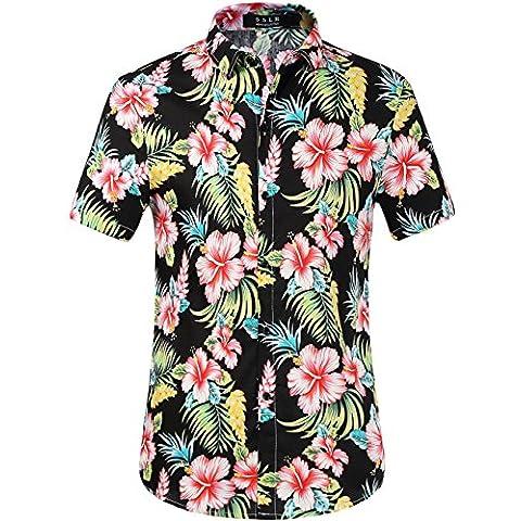 SSLR -  Camicia Casual  - Uomo