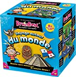 Asmodee - 93303 - Brain Box - Voyage Autour du Monde - Jeu Enfants...