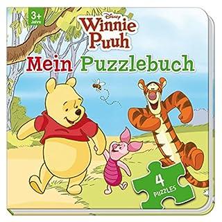 Disney Winnie Puuh: Mein Puzzlebuch: Mit 4 Puzzles zu je 12 Teilen