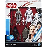 "Hasbro Star Wars E0321EU4 Star Wars Episode 8"" Force LINK Actionfiguren, 4er Pack, 3.75 Zoll"