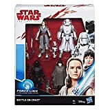 "Hasbro E0321EU4 Star Wars Episode 8"" Force LINK Actionfiguren, 4er Pack, 3.75 Zoll"